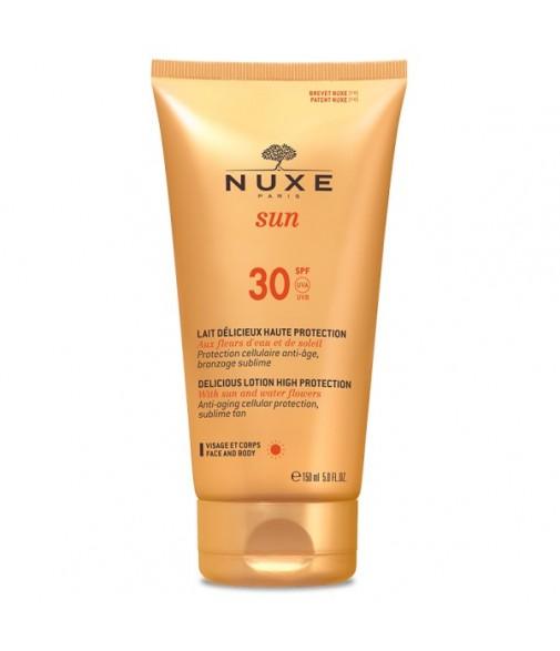 NUXE SUN LAIT DELICIEUSE HAUTE PROTECTION SPF30