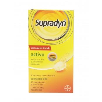 Supradyn activo Q10 30 comprimidos efervescentes