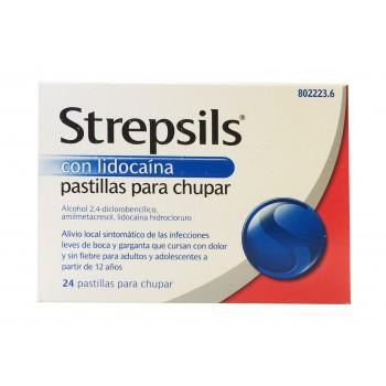 Strepsils con lidocaina 24 comprimidos