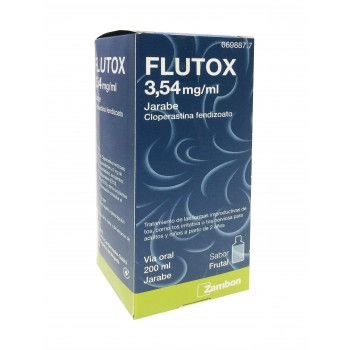 FLUTOX 3,54 mg/ml jarabe 200 ml