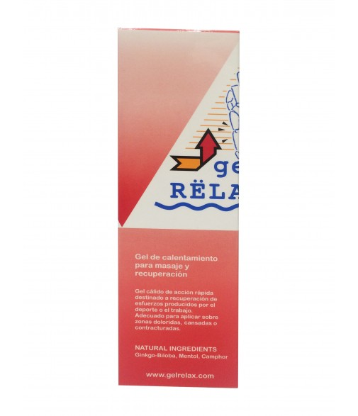 Gel relax rojo 125 ml tubo