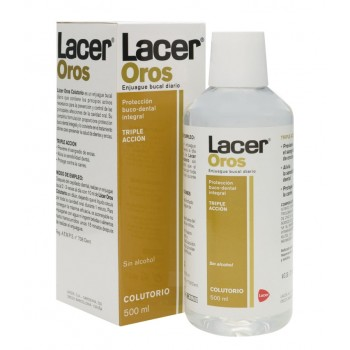Lacer Oros Acción Integral Colutorio Sin Alcohol 500ml
