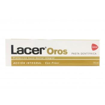 Lacer Oros Acción Integral Pasta Dentífrica con Flúor 75ml