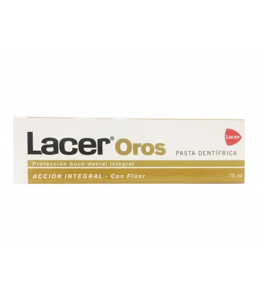 Lacer oros pasta dentífrica 75ml