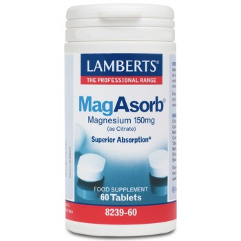 Lamberts mag absorb, 60 tabletas
