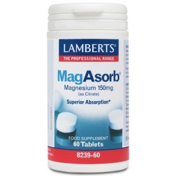 Lamberts mag absorb, 60 tabletas