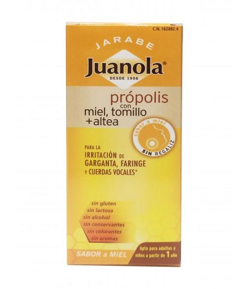 Juanolas jarabe propolis miel 150 ml