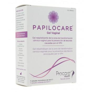 Papilocare gel vaginal 7 cánulas