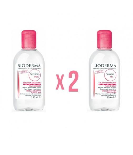 Pack 2 Uds - Bioderma Sensibio H2O Agua micelar 250 ml