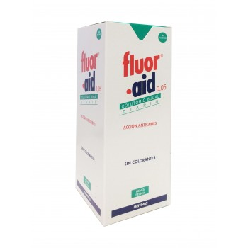 Fluor aid 0.05 colutorio dia 500ml dentaid