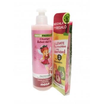 Nosa natural champu aceite del arbol del te rosa 250 ml