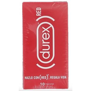 Durex Preservativos RED Original 10 Unidades