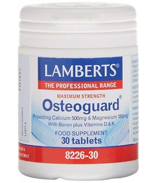 Osteoguard 30 cápsulas lamberts