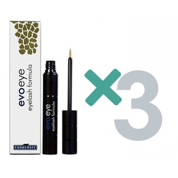 Pack EVOEYE pestañas triple (Fórmula Serum Pestañas Largas y Gruesas)
