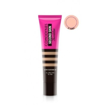 Comodynes Second Skin Ultra-fluid Make-up Honey