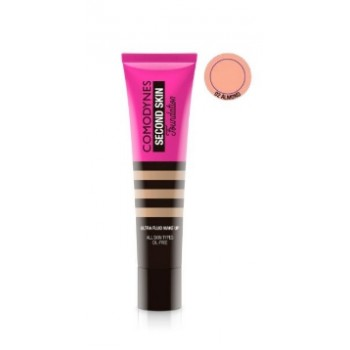 Comodynes Second Skin Ultra-fluid Make-up Almond