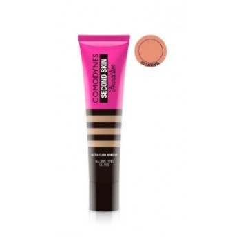 Comodynes Second Skin Ultra-fluid Make-up Caramel