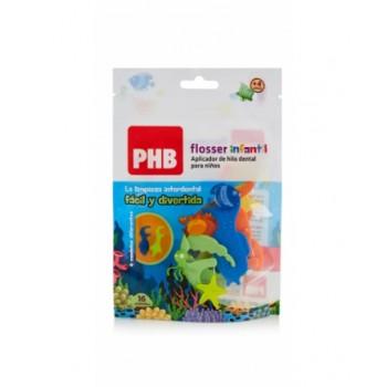 PHB Aplicador de Hilo Flosser Infantil 16 unidades