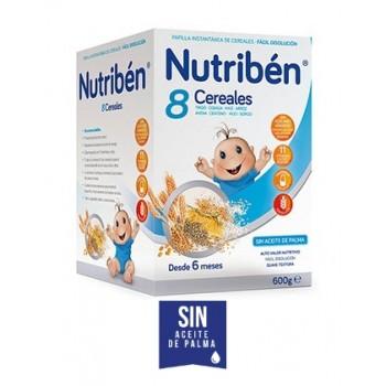 Nutribén Papilla 8 Cereales +6 meses