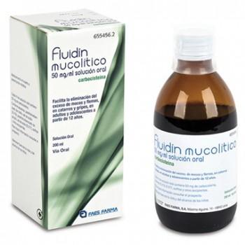 Fluidín Mucolítico 50 mg/ml 200 ml