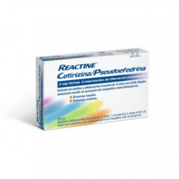 Reactine Cetirizina
