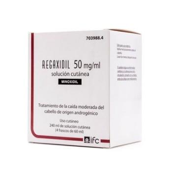 Regaxidil Solución Cutánea 50 mg/ml