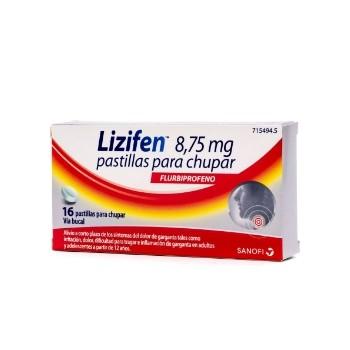 Lizifen Pastillas para Chupar 8,75 mg