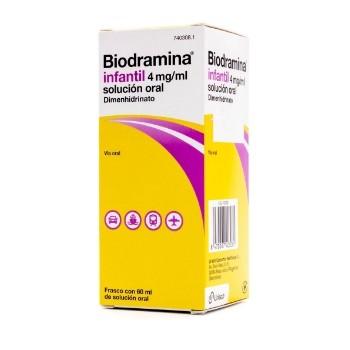 Biodramina Infantil Solución Oral 4 mg/ml