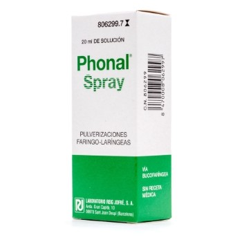 Phonal Spray Pulverizaciones Franco-Laríngeas
