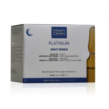 MartiDerm Night Renew Antiedad Nocturno 30 ampollas