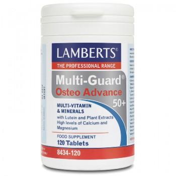 Lamberts Multi-Guard Osteo Advance 50+ 120 tabletas