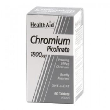 HealthAid Cromo Picolinato 60 comprimidos