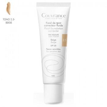 Avène Couvrance Maquillaje Fluido Tono Beige 30 ml