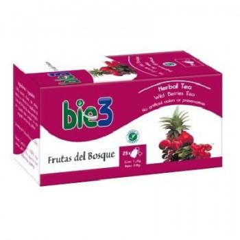 Bie3 Té Frutas del Bosque 1,5 gramos 25 bolsas