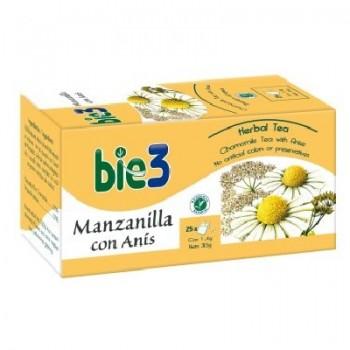Bie3 Té Manzanilla con Anís 1,4 gramos 25 bolsas