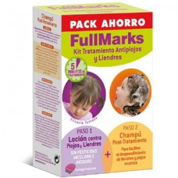 FullMarks Kit Piojos y Liendres Loción+Champú