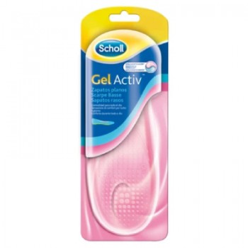 Plantilla Dr. Scholl Tecnología GelActiv para Zapatos Planos