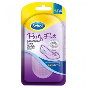 Dr. Scholl Party Feet Almohadilla Talón Invisible