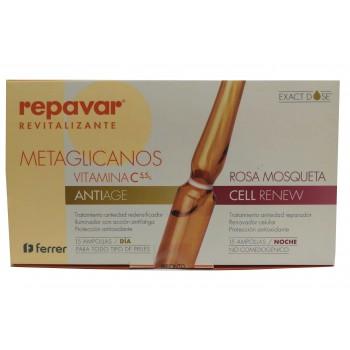 Repavar Revitalizante Metaglicanos 15+15 ampollas