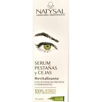 Natysal serum pestañas y cejas