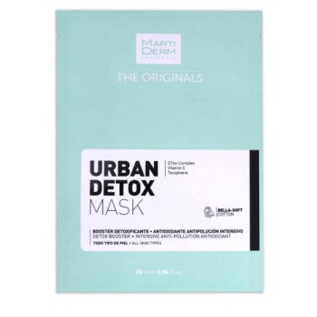 Martiderm urban detox mask the originals 1 unidad