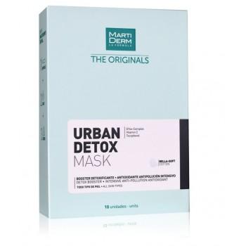 MartiDerm The Originals Urban Detox Mask Todo Tipo de Piel 10 unidades