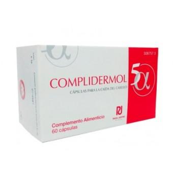 Complidermol 5-Alfa Para la Caída del cabello 60 cápsulas