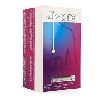 Ziverel Protector y Reparador de la Mucosa Esofágica 20 Sobres Bebibles de 10 ml Sabor a Uva