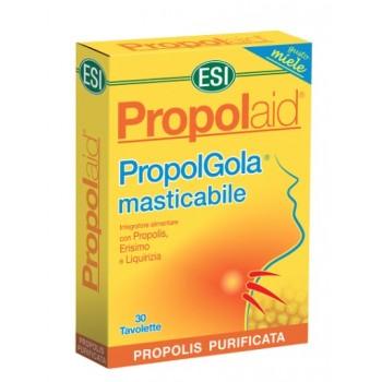 Propolaid PropolGola Sabor a Miel Complemento Alimenticio 30 Tabletas Masticables ESI