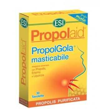 Propolaid PropolGola Sabor a Menta Complemento Alimenticio 30 Tabletas Masticables ESI