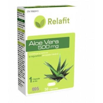 Relafit Aloe Vera Regulador del Transito Intestinal 30 Cápsulas