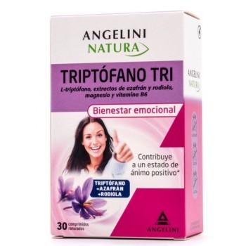 Triptófano Tri Bienestar emocional 30 Comprimidos Ranurados