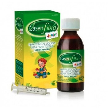Casen Fibra Junior Fibra Vegetal Líquida Sabor Neutro 200ml