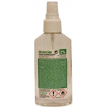 Gel Hidroalcoholico Desinclor 2% 125Ml
